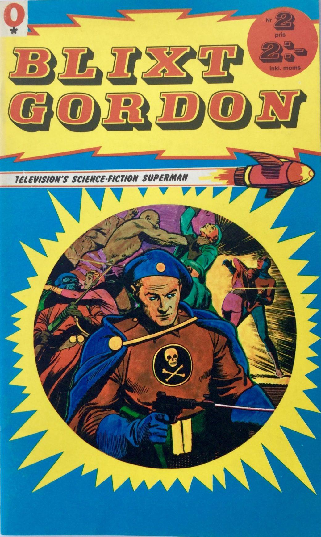 Omslag till Blixt Gordon nr 2, 1973