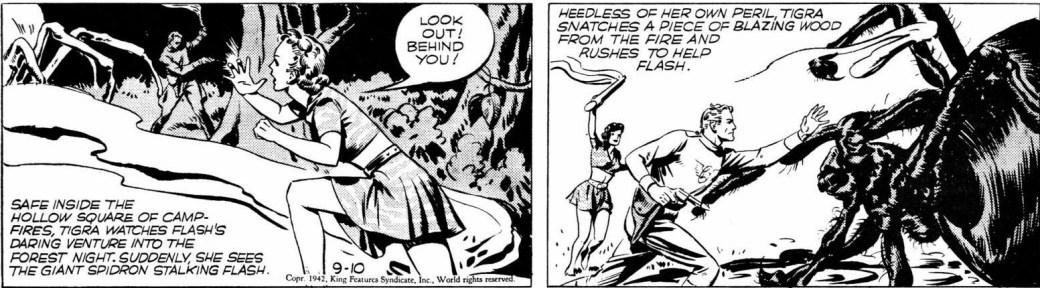 Flash Gordon av Austin Briggs från 10 september 1942