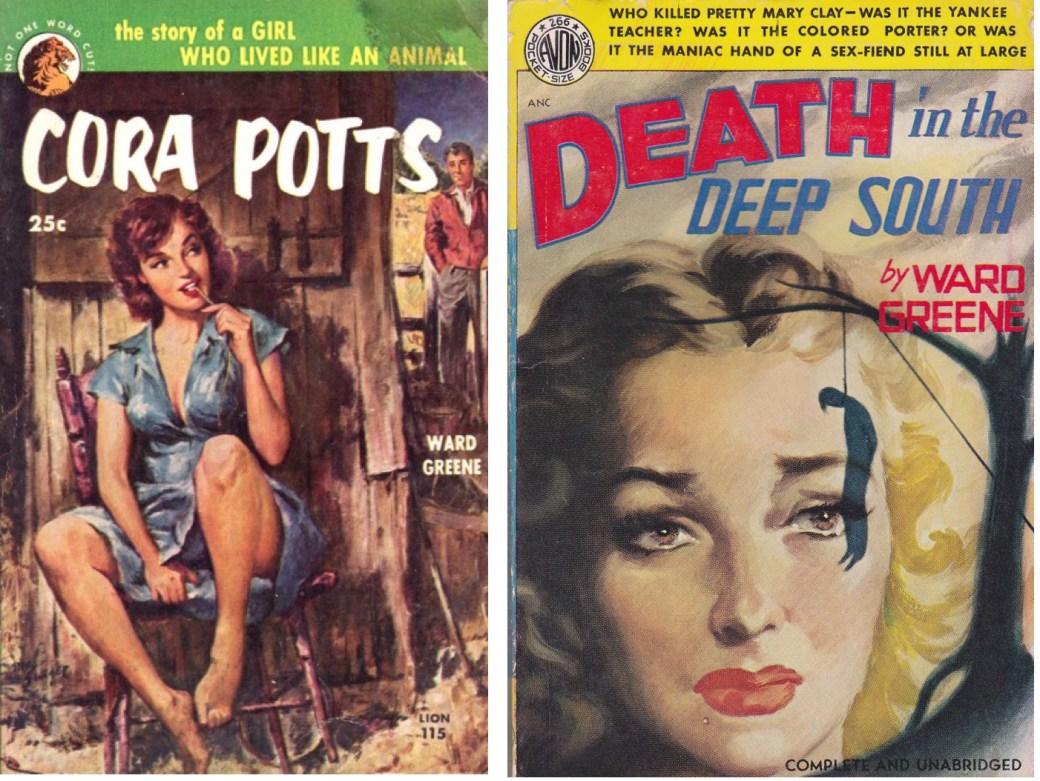"""Två av Ward Greenes romaner var """"Cora Potts"""" och """"Death in the Deep South"""""""