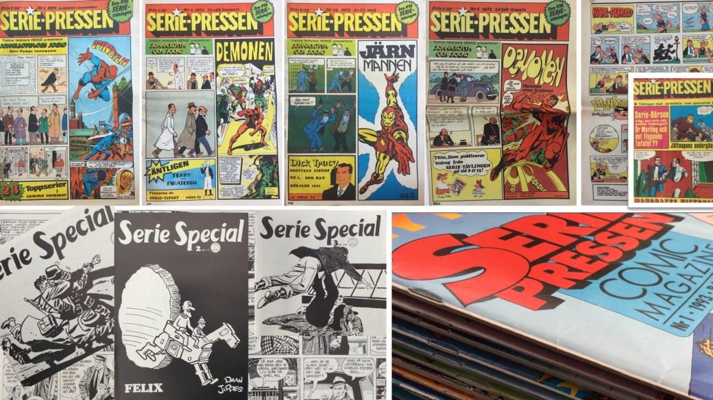 Serie-Pressen var en förebild för nya SeriePressen, men som föregicks av SerieSpecial