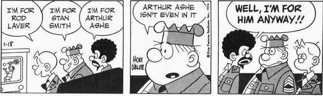 En dagsstripp från 18 januari 1974