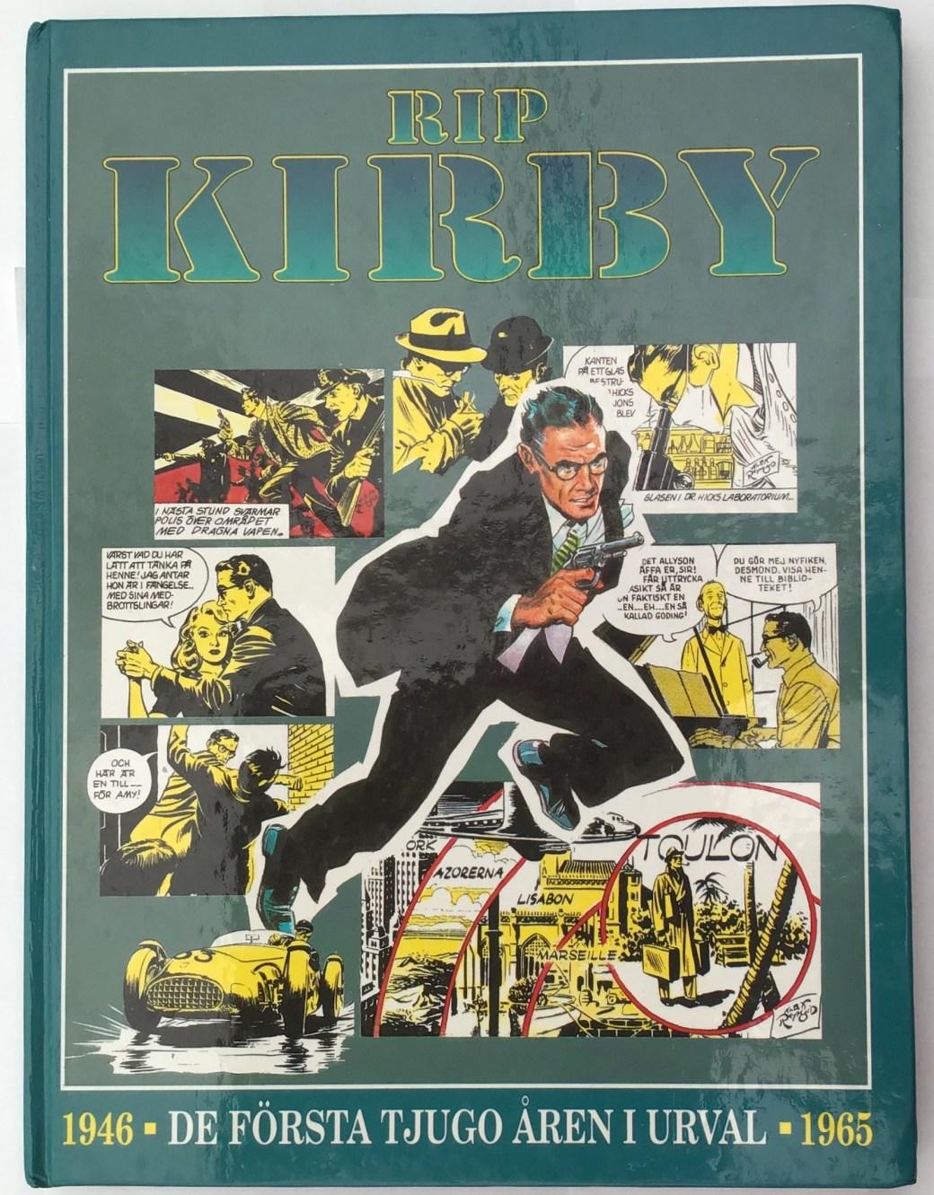 Rip Kirby, utgiven av Semic 1994