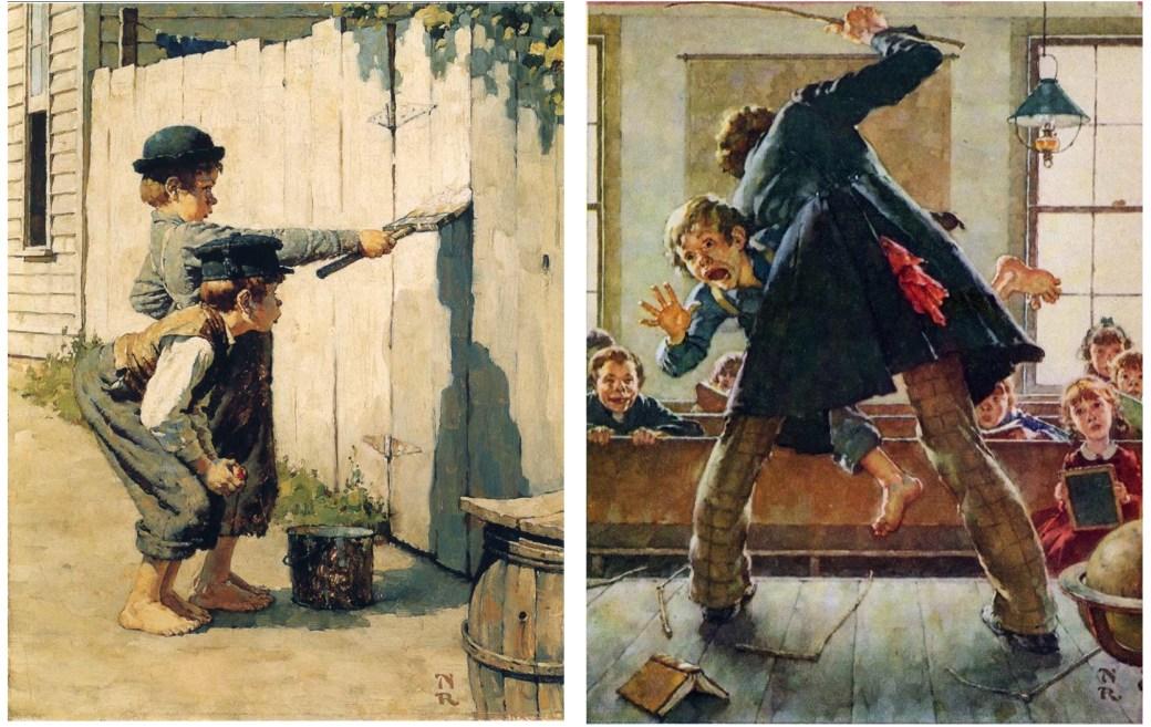 Tom Sawyer och Huckleberry Finn