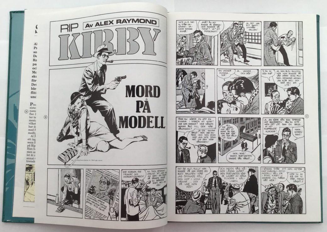 Mord på modell, en episod från 1946