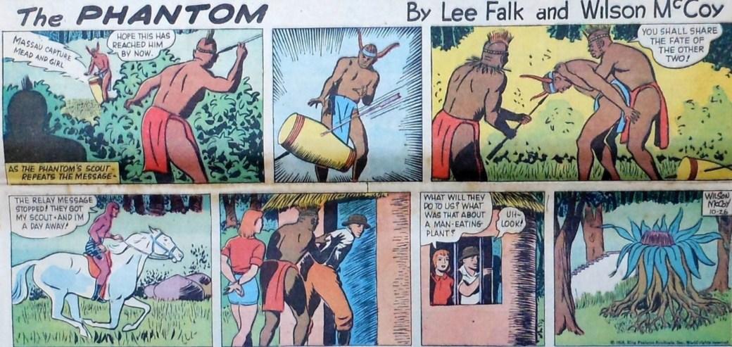 En söndagssida från 1958