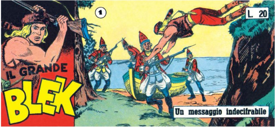 Il grande Blek nr 1, serie VII, 1957