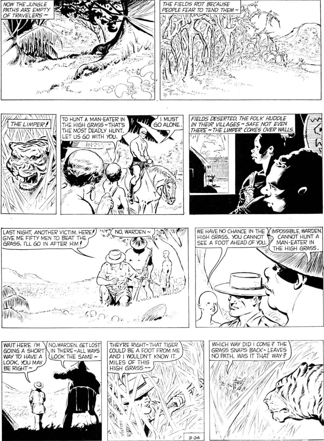 En söndagssida av Carmine Infantino, från 24 september 1961