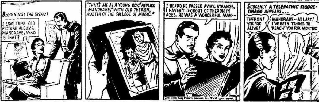 Originalstrippen från 4 december 1950