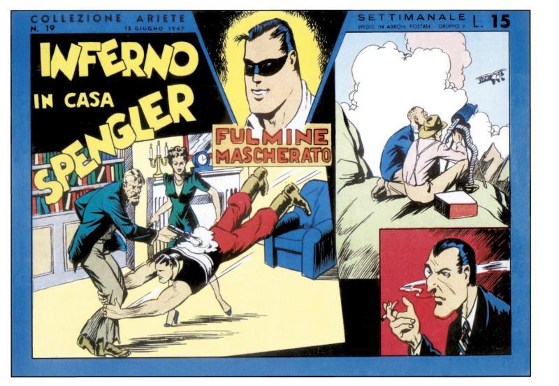 Teckningar av Giovanni Sinchetto efter manus av Cesare Solini, Andrea Lavezzolo och Gian Luigi Bonelli