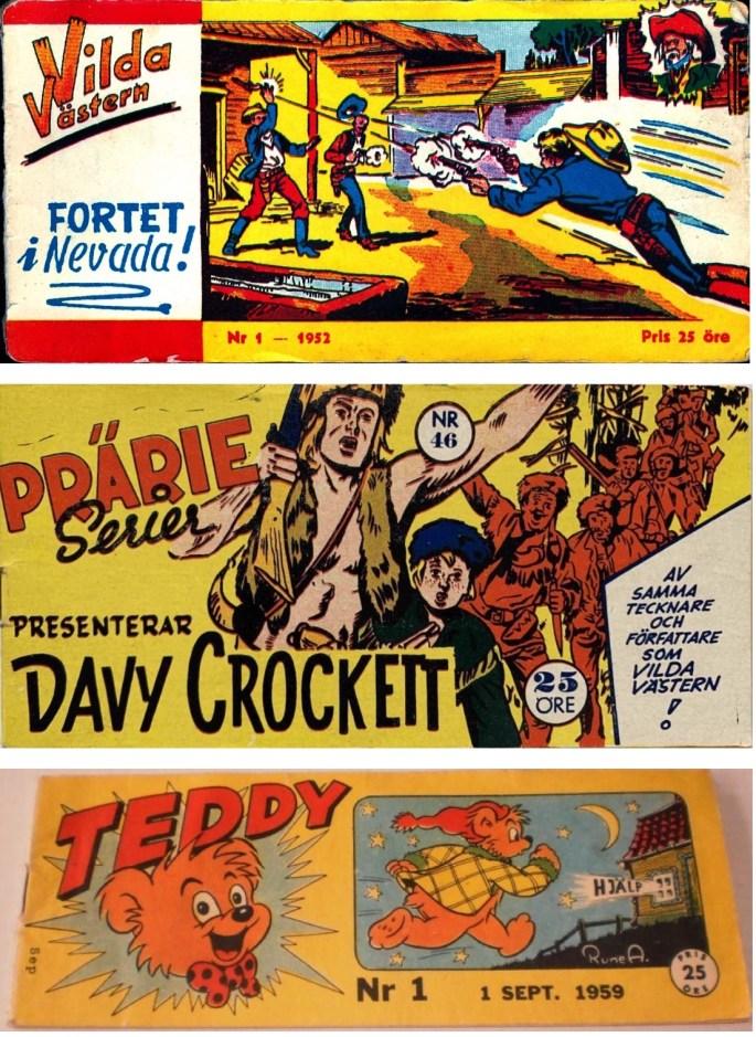 Tidningsformatet varierar men serietidningar i checkhäftesformat är vanligen c:a 17x8 cm