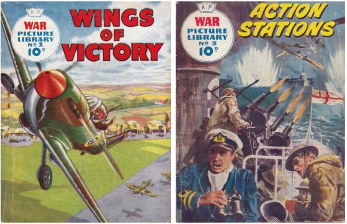 War Picture Library nr 2 och 3