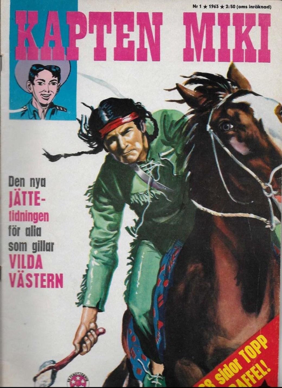 Kapten Miki nr 1, 1963