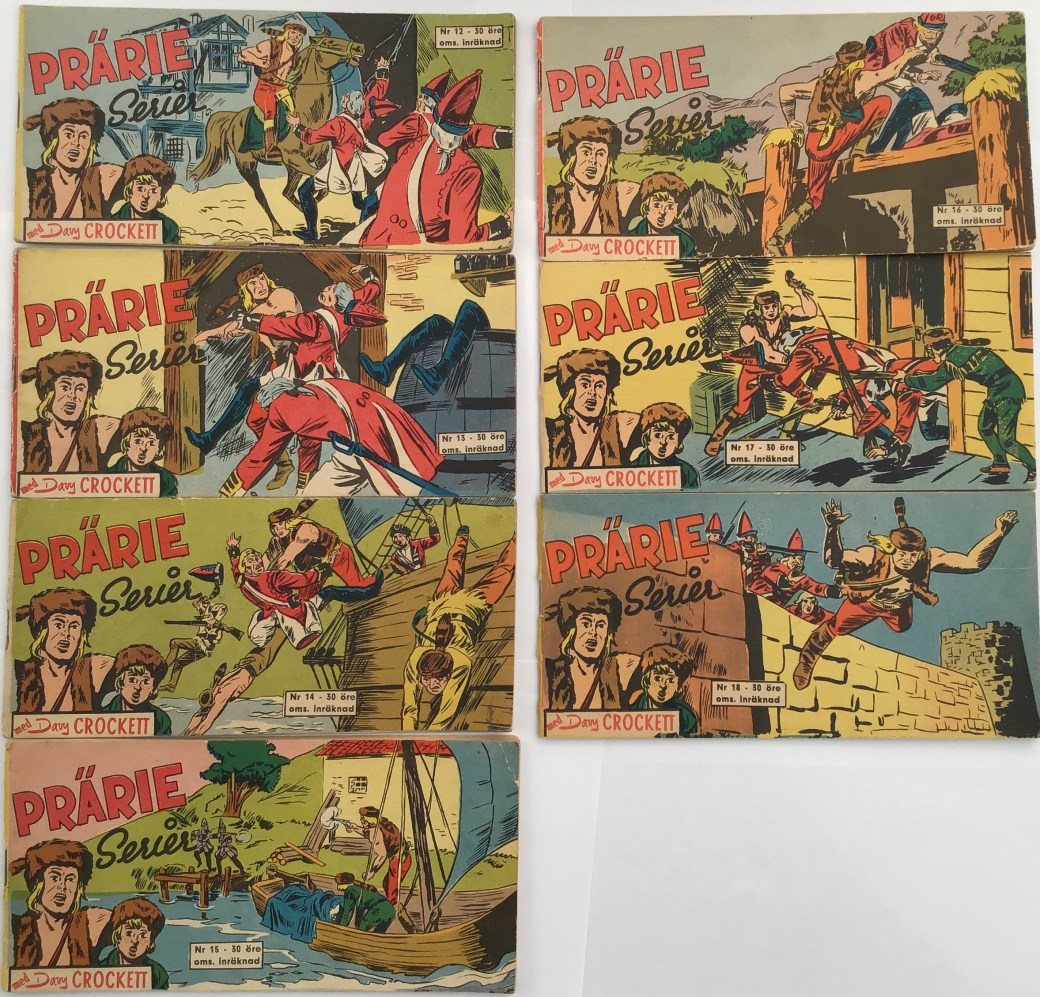 Davy Crockett 1960 i Prärieserier nr 12-18, 1960