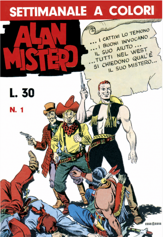 Alan Mistero nr 1, 1965