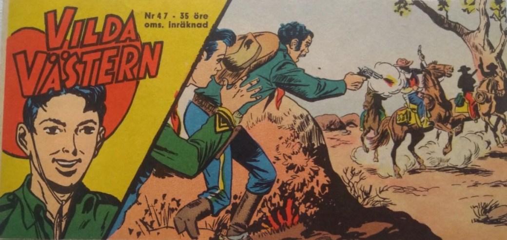Vilda Västern med Kapten Miki nr 47, 1962