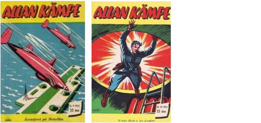 Allan Kämpe nr 9-10, 1953