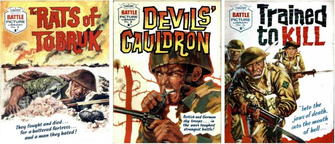 Fleetway publicerade 1706 nummer av Battle Picture Library 1961-84