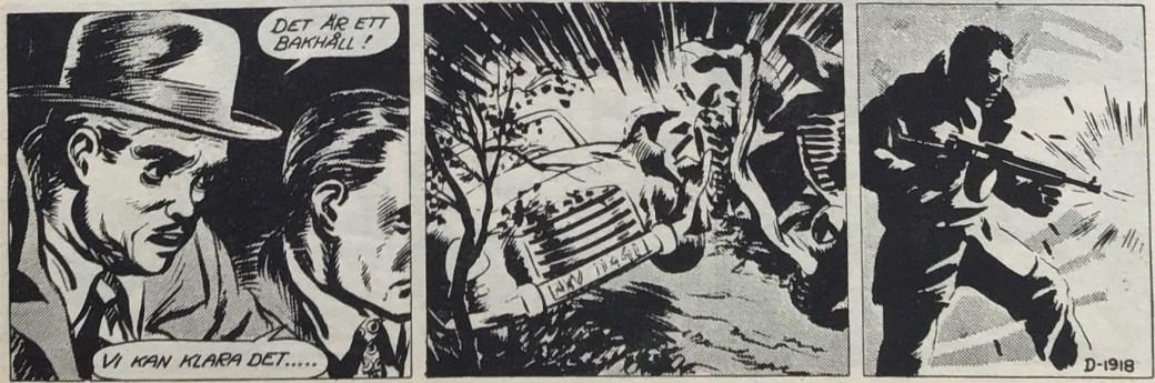 Stripp D-1918 ur episoden Ringen i rymden