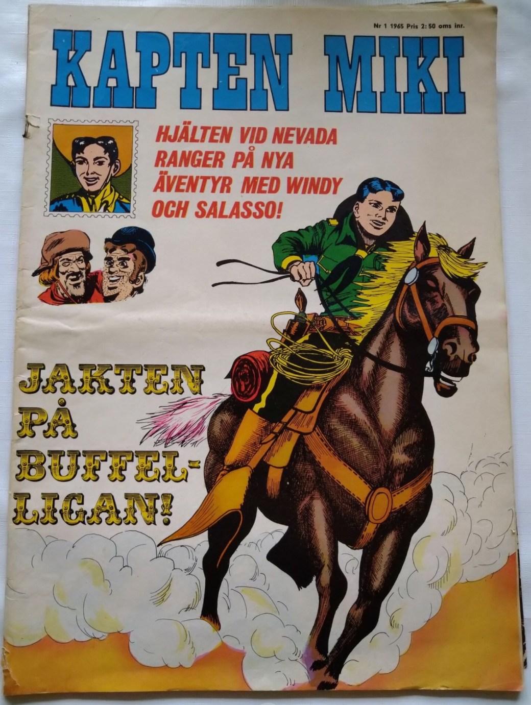 Kapten Miki nr 1, 1965