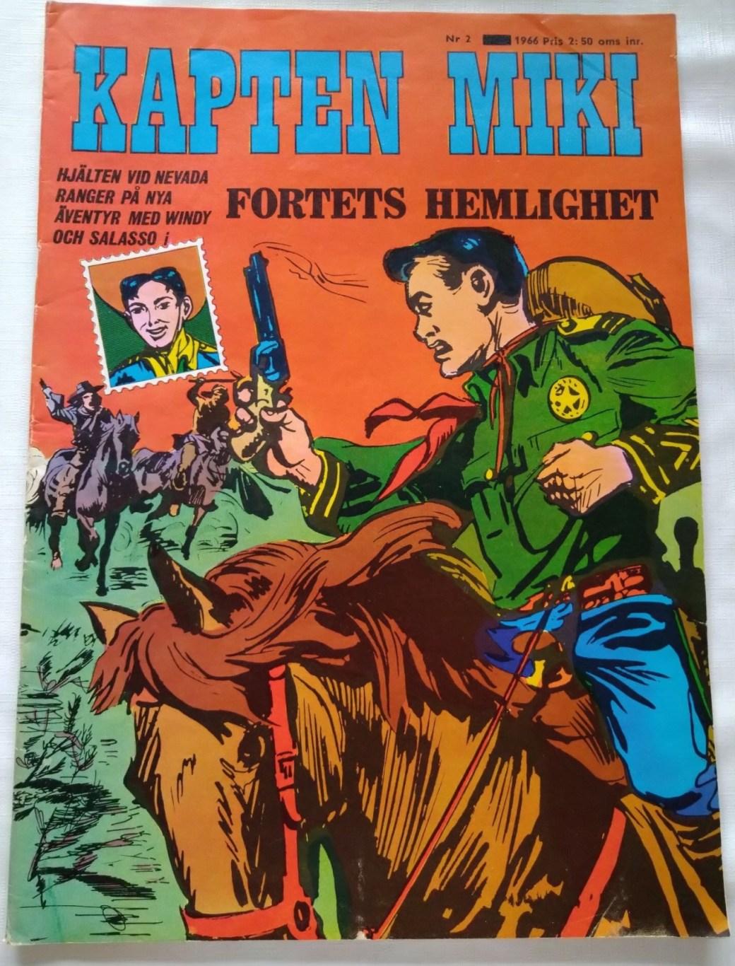 Kapten Miki nr 2, 1966