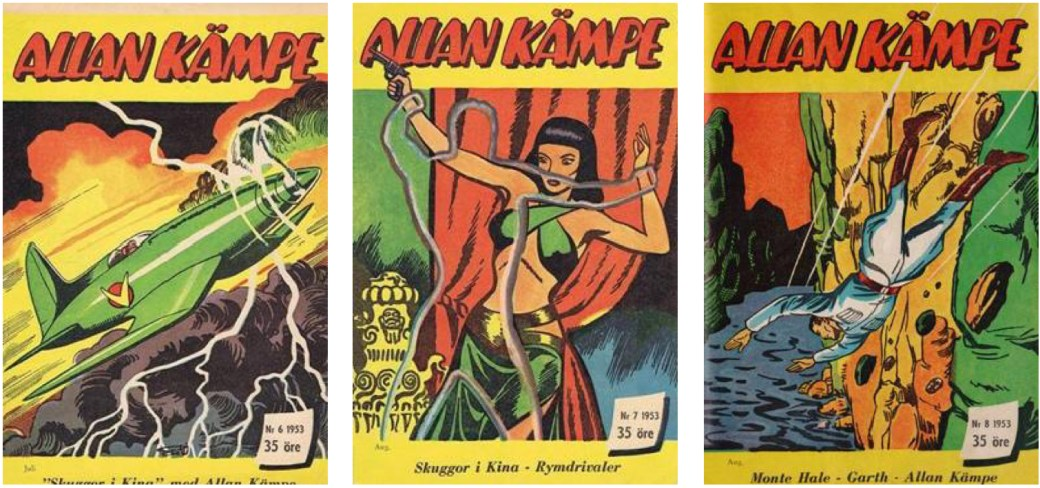 Allan Kämpe nr 6-8, 1953