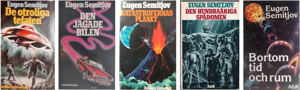 Eugen Semitjov var flitig som författare