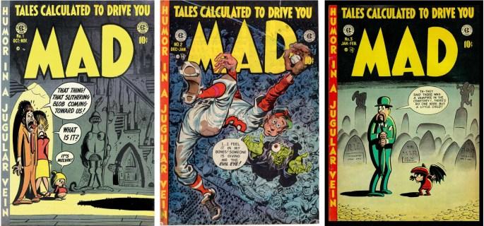 EC Comics ligger bakom den satiriska serietidningen Mad