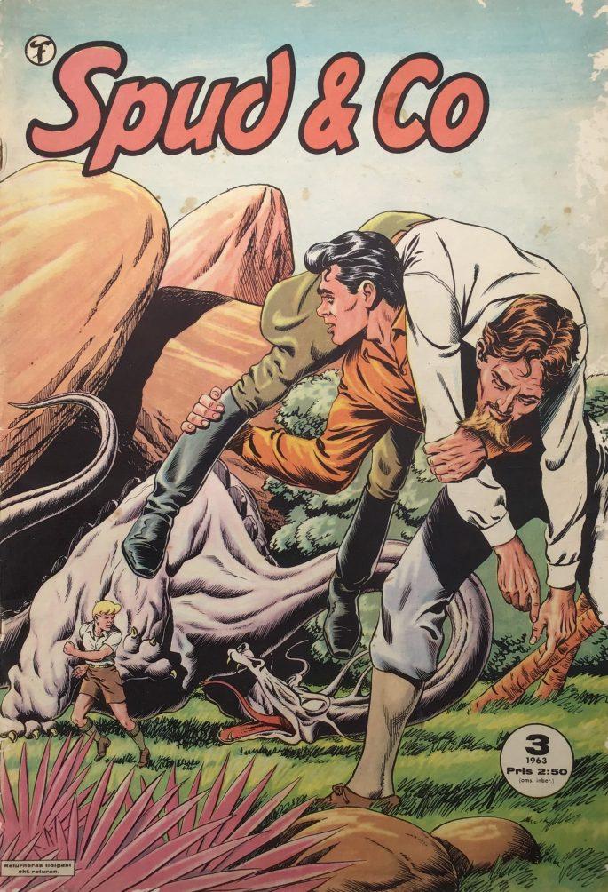 Omslag till Spud & Co nr 3, 1963