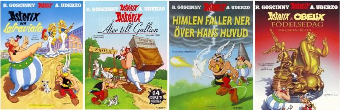 Egmont förlag tog över Asterix från Serieförlaget