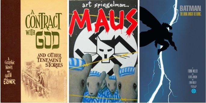Den grafiska romanen blev ett begrepp på 80-talet