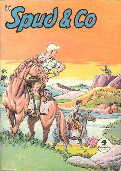 Omslag till Spud & Co nr 4, 1963