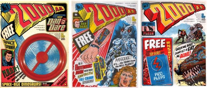 Första numret av serietidningen 2000 AD utkom 26 februari 1977