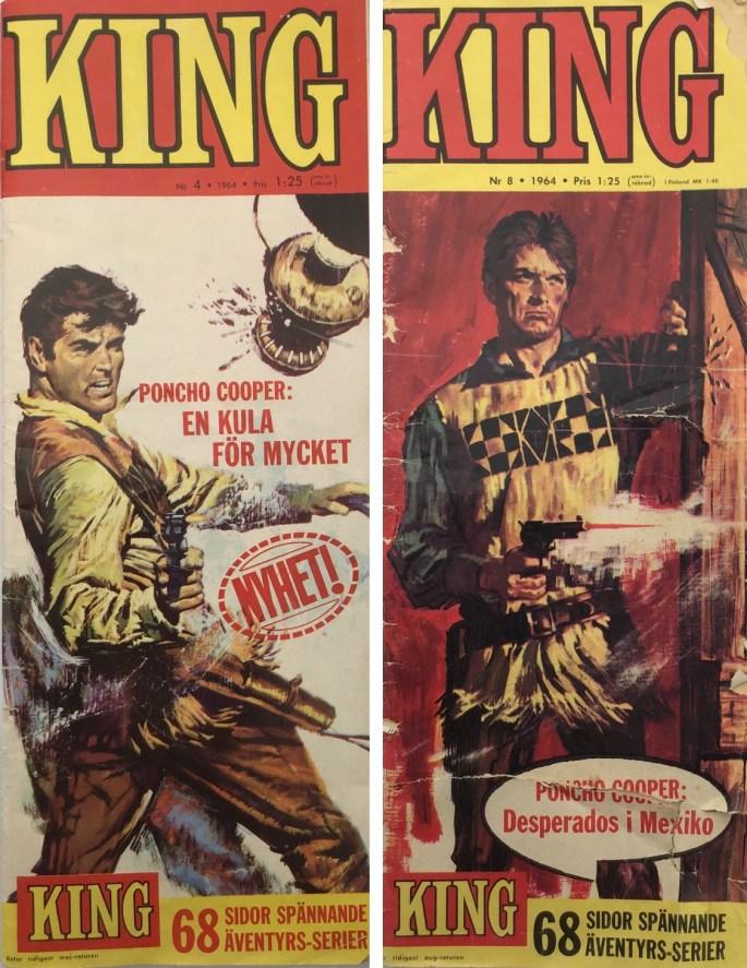 King var en högsmal tidning, en s.k. långshal