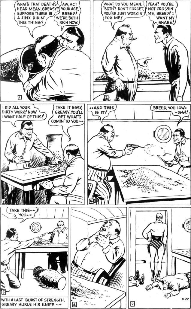 Söndagssidan från den 22 augusti 1948 i original