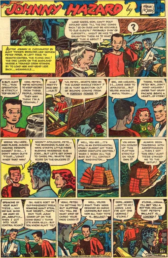 Söndagssidan från den 9 juli 1950