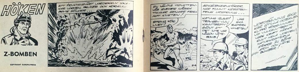 Z-bomben är Höken-episoden i Bob och Frank (Serieförlaget) nr 21