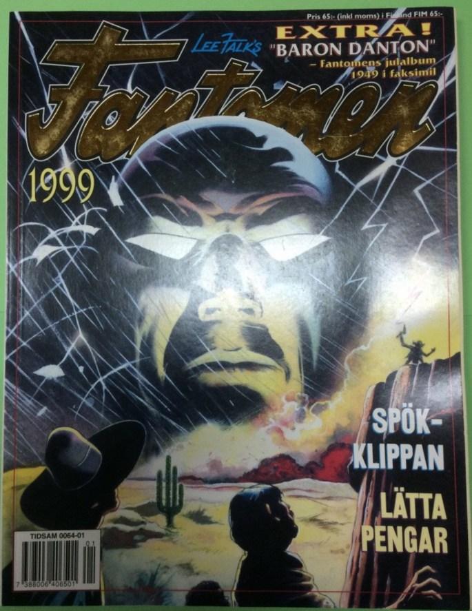 Omslag till Fantomen julalbum 1999
