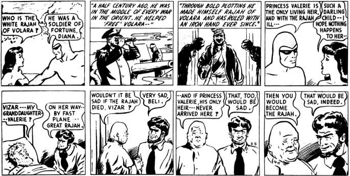 Dagsstripparna 4-5 mars 1946