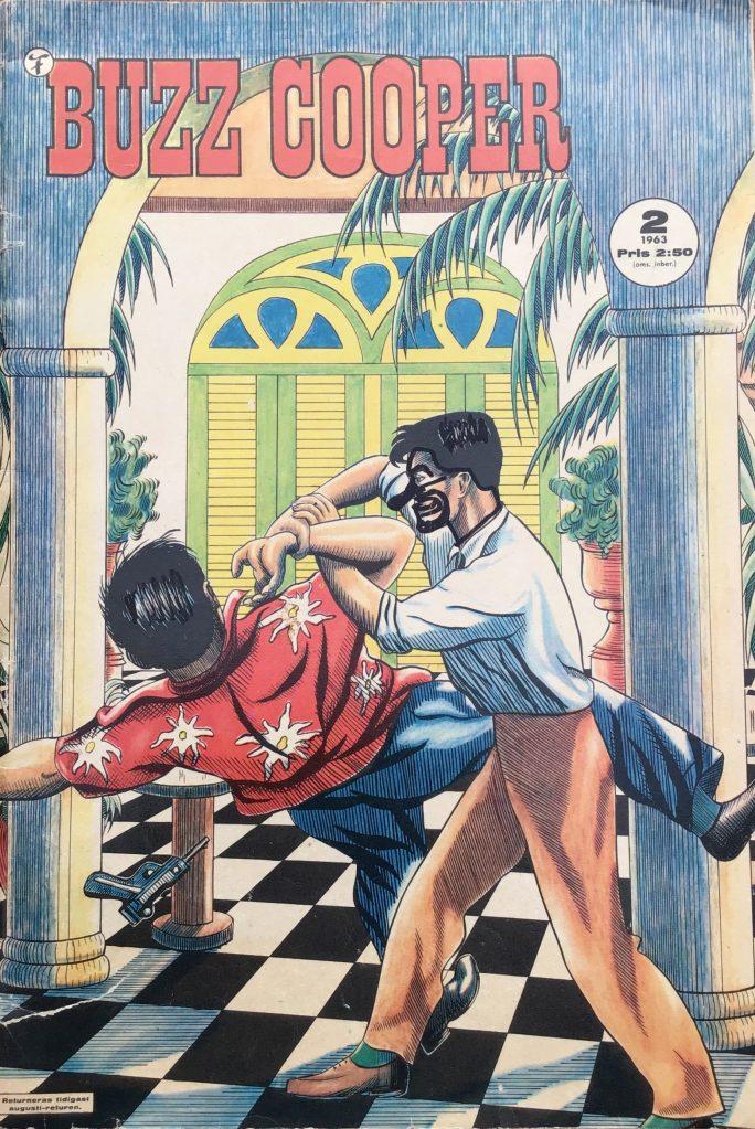 Omslag till Buzz Cooper (Formatic) nr 2, 1963.