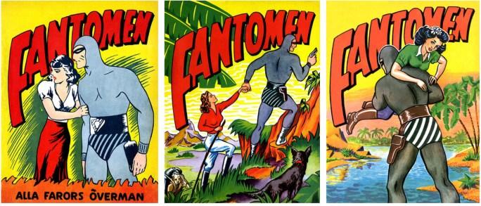 Omslag till Fantomen julalbum 1944, 1945, 1946