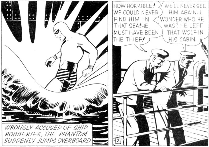 Motsvarande rutor från söndagssidan 11 juni 1950