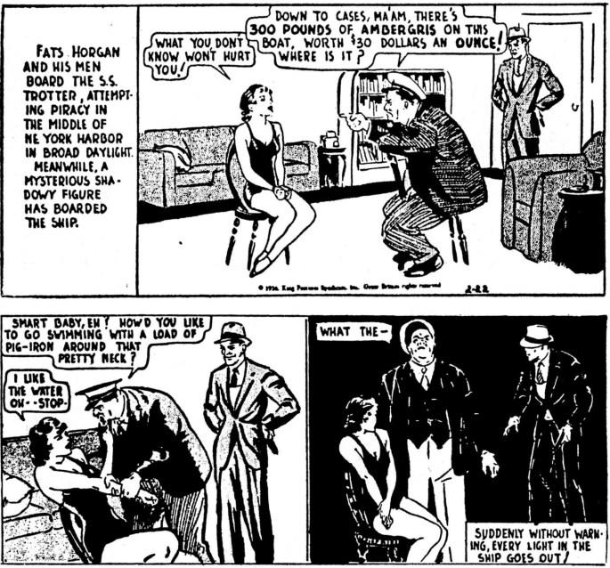 Dagsstrippen den 22 februari 1936