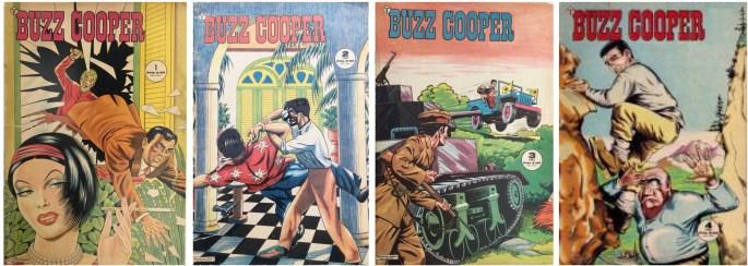 Buzz Cooper kom ut som egen serietidning 1963.