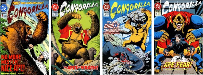 Congorilla #1-4. ©DC