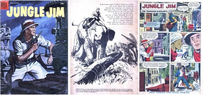 Jungle Jim #3 utgiven av ©Dell
