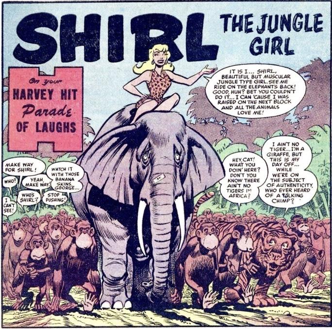 Shirl the Jungle Girl. ©Harvey