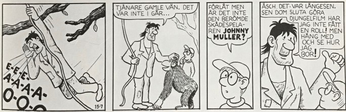 Johnny Muller var en bifigur i Felix i Vilda Västern. ©Carlsen