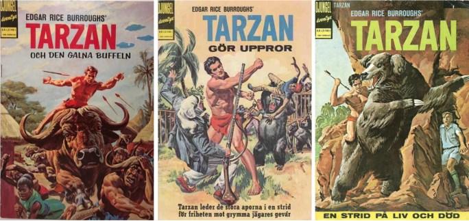Tarzan nr 1-3, 1965. ©Williams