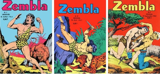 Zembla #1-3 från 1963.