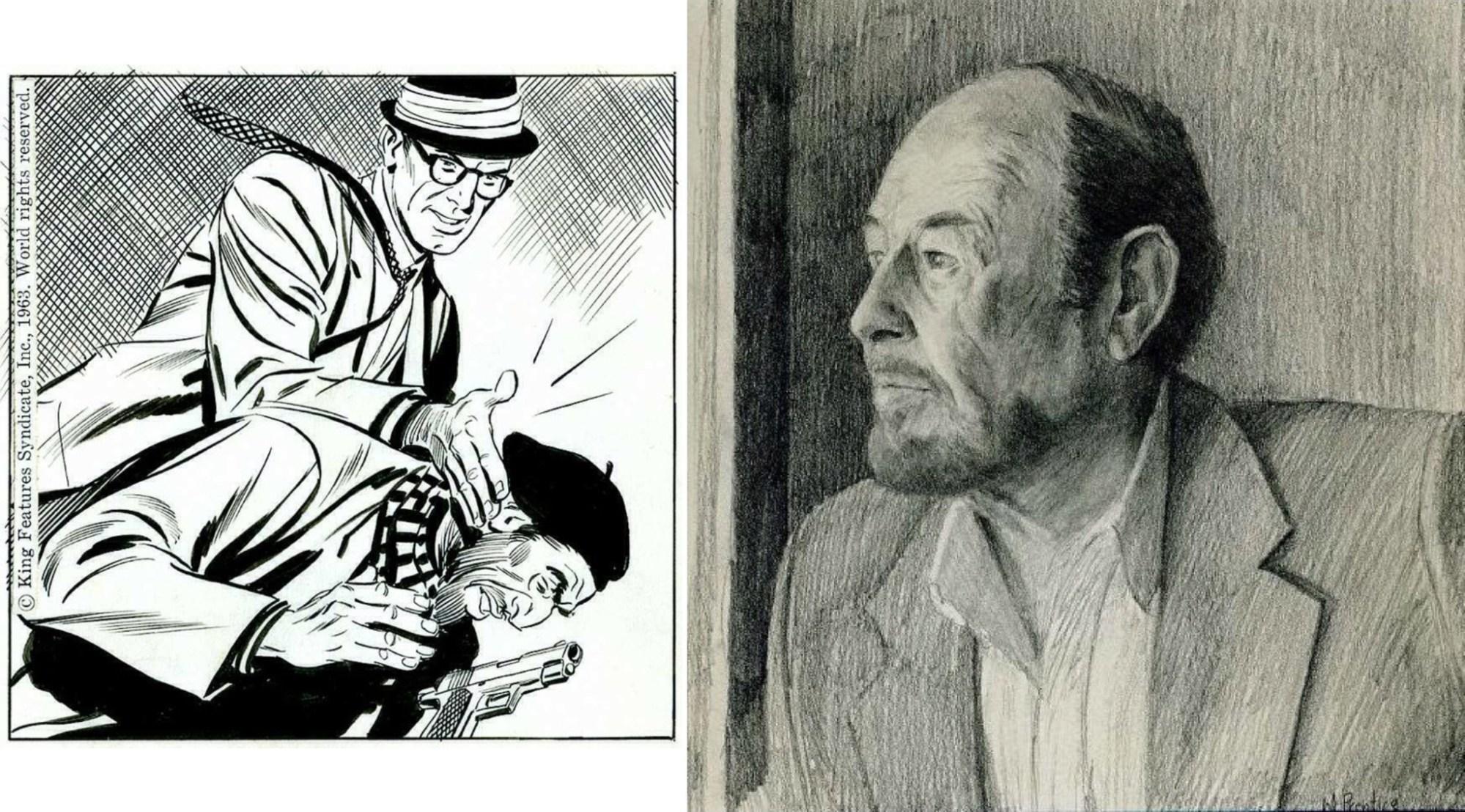John Prentice tecknade Rip Kirby